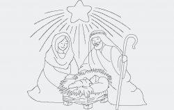 Xmas nativity