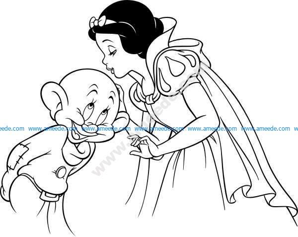 kiss of the princess