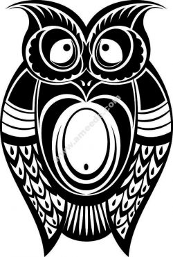 bird symbol cat owl file .cdr and .dxf free vector download for Laser cut plasma