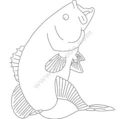Bass Small mouth file .cdr and .dxf free vector download for printers or laser engraving machines