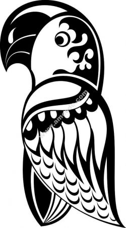 The woodpecker file .cdr and .dxf free vector download for Laser cut plasma