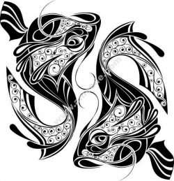 Pisces file .cdr and .dxf free vector download for Laser cut plasma
