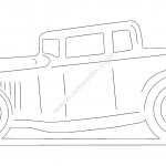 Oto car 5 window coupe file cdr and dxf free vector download for Laser cut plasma file decal