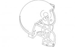 HELMET BOISE SMALL file cdr and dxf free vector download for printers or laser engraving machines