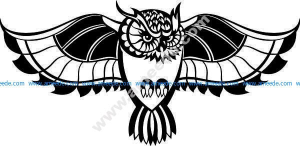 bird kicks flapping wings