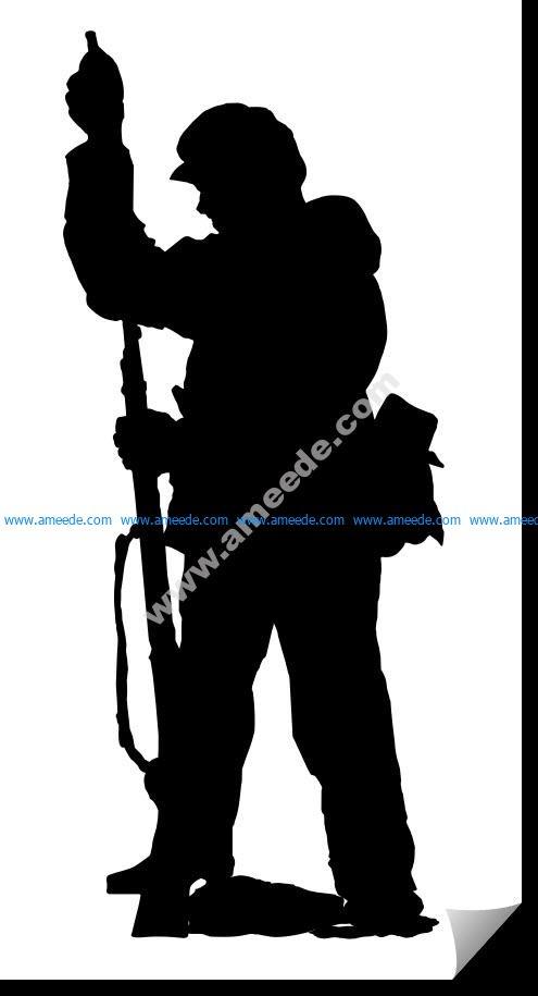 Soldier Vertical Rifle