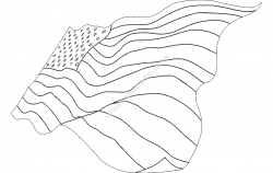 American Flag file .cdr and .dxf free vector download for printers or laser engraving machines