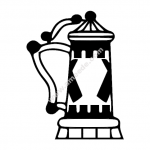 Beer Stein file cdr and dxf free vector download for Laser cut plasma