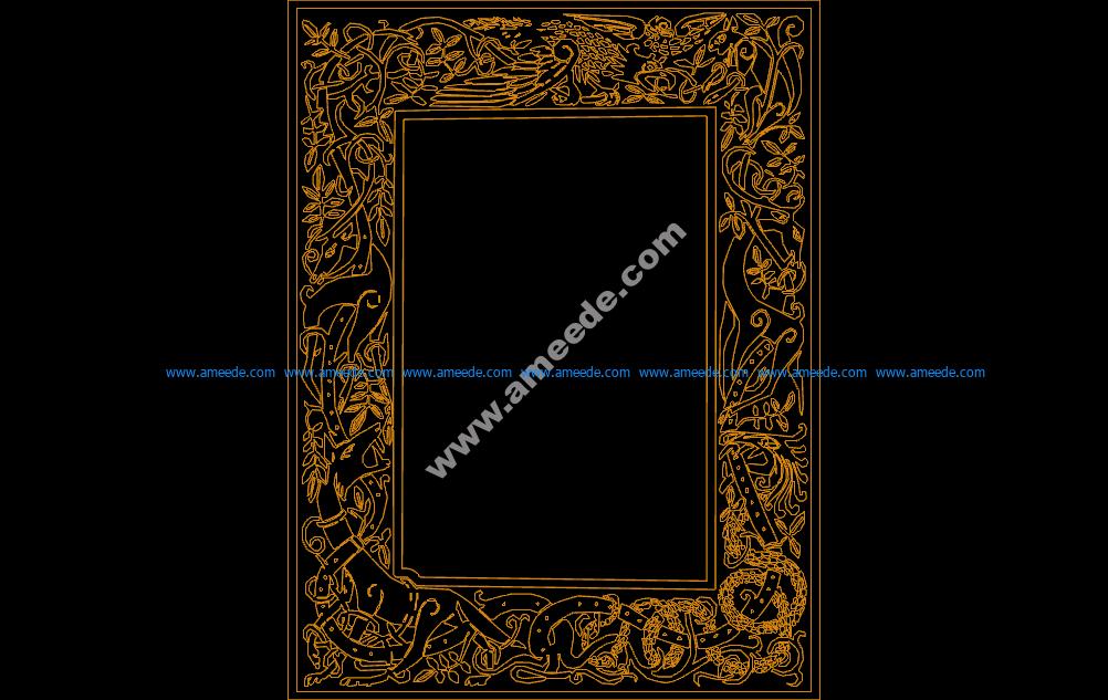 Celtic Clip Art Frame