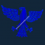Eagle file 3d .stl and .bmp free vector download for CNC