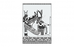 Egypt file cdr and dxf free vector download for printers or laser engraving machines