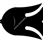 Fish sm file cdr and dxf free vector download for Laser