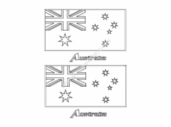 Flag Of Australia file cdr and dxf free vector download for printers or laser engraving machines