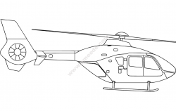 Helicopter Silhouette file cdr and dxf free vector download for printers or laser engraving machines