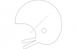 Helmet silhouette file cdr and dxf free vector download for printers or laser engraving machines