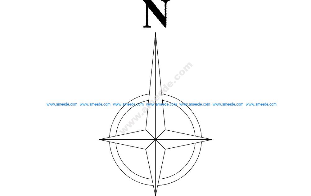 North Arrow Symbol