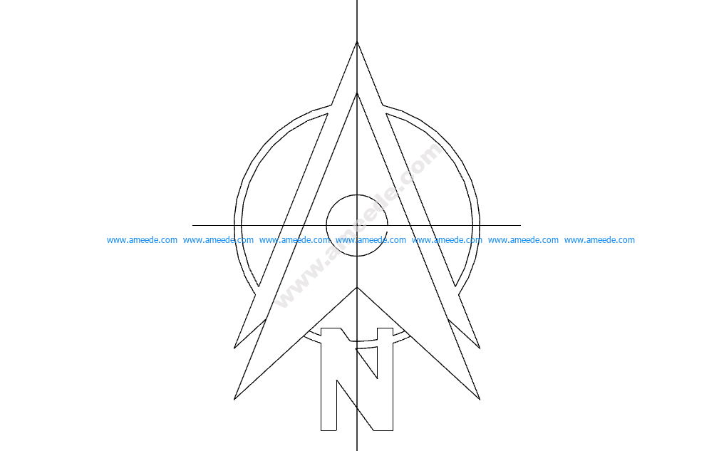 North Arrow Symbol