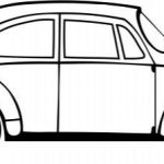 Old Car file .cdr and .dxf free vector download for Laser cut plasma