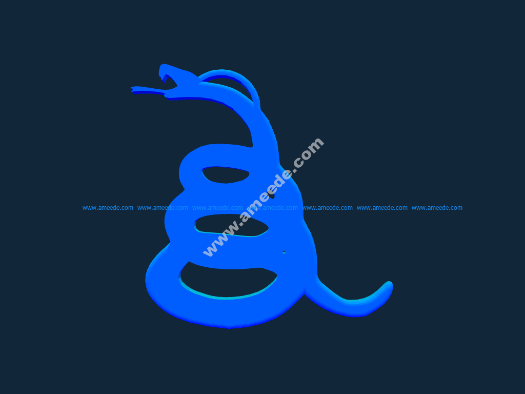 Snake stl file