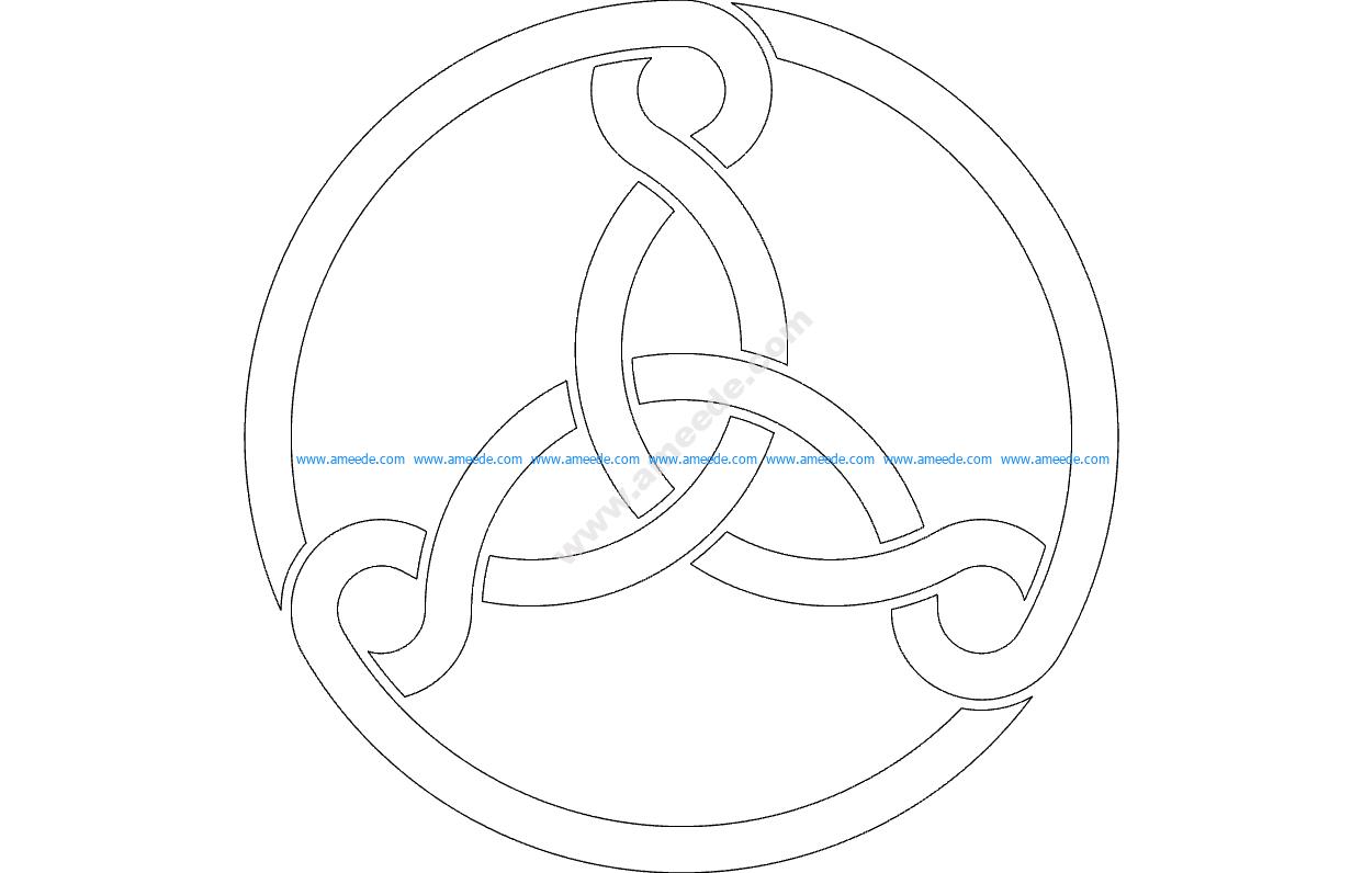 Three Celtic Knots
