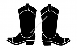 boots file cdr and dxf free vector download for printers or laser engraving machines