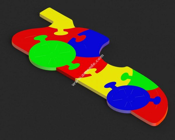 Car Puzzle for Kids stl file