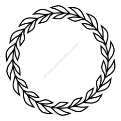 Laurels and Wreaths Design file .cdr and .dxf free vector download for printers or laser engraving machines