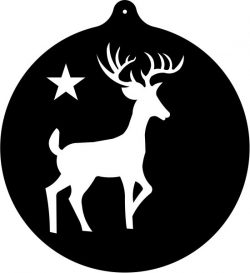 deer orn file cdr and dxf free vector download for Laser cut plasma