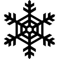 Snow flake file .cdr and .dxf free vector download for Laser cut plasma