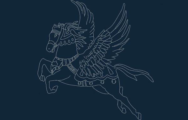 Pegasus dxf file
