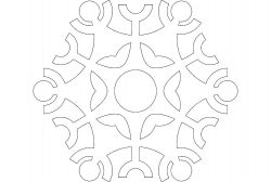 Design snow file .cdr and .dxf free vector download for Laser cut plasma