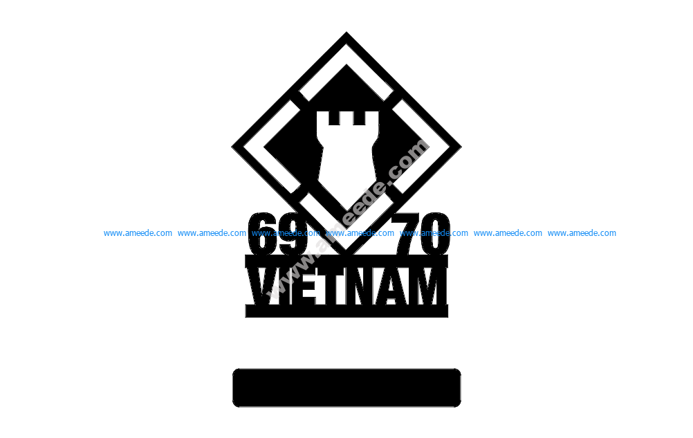 20th Engineers 69-70 Vietnam w-stand