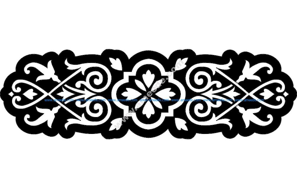 Floral Grille Design