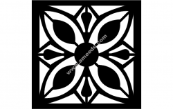 Floral Grille Pattern