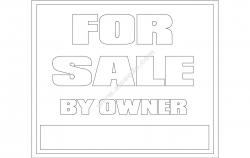 For Sale Board