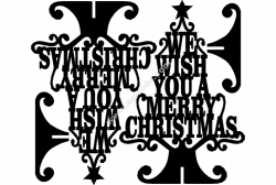 Stand Merry Christmas Wish