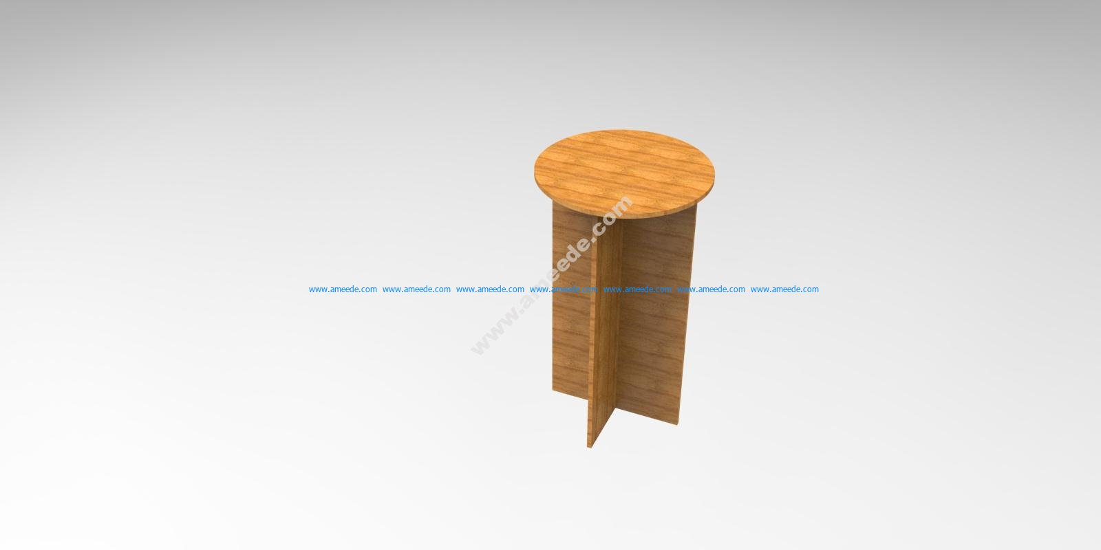 10 Mm Mdf Chair Stool