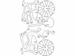 Bicicleta 3D Puzzle