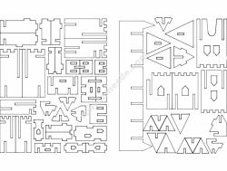 Castillo 3D Puzzle