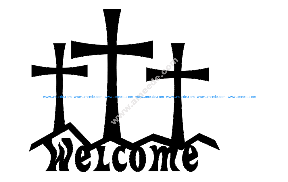 Cross Welcome