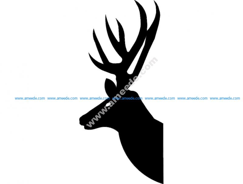 Deer Head 2