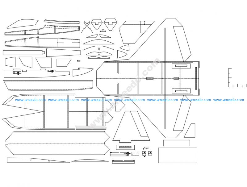 F-22 3D Puzzle