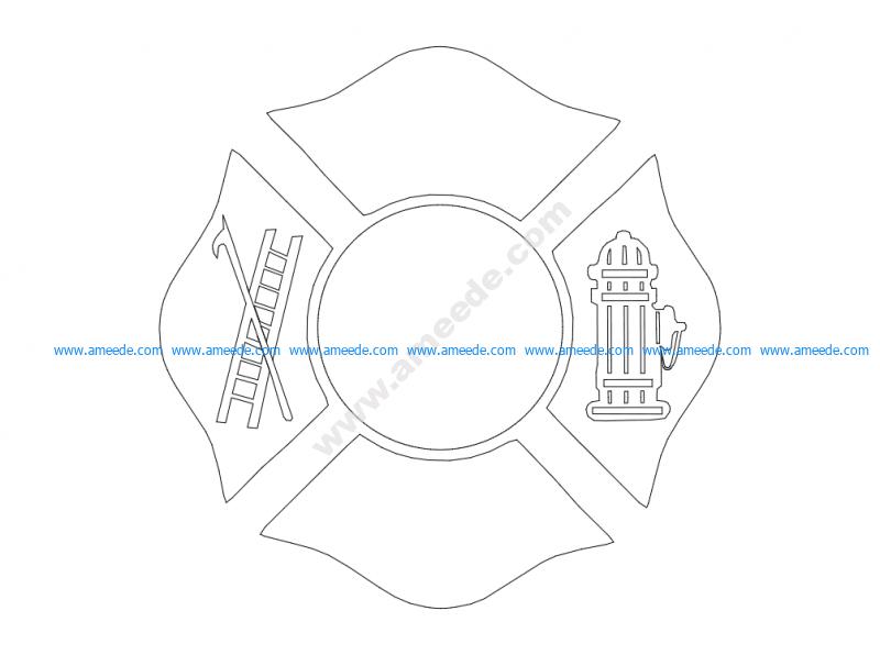 Fd Maltese Cross