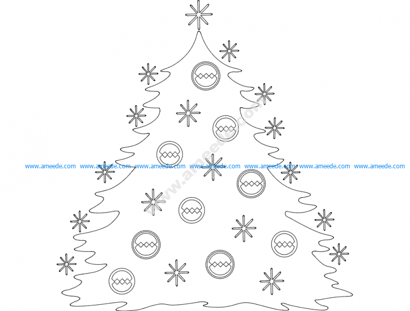 Festive Stuff Christmas Tree