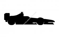 Formula 1 Car Silhouette