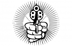 Hand With Pistol Cartoon