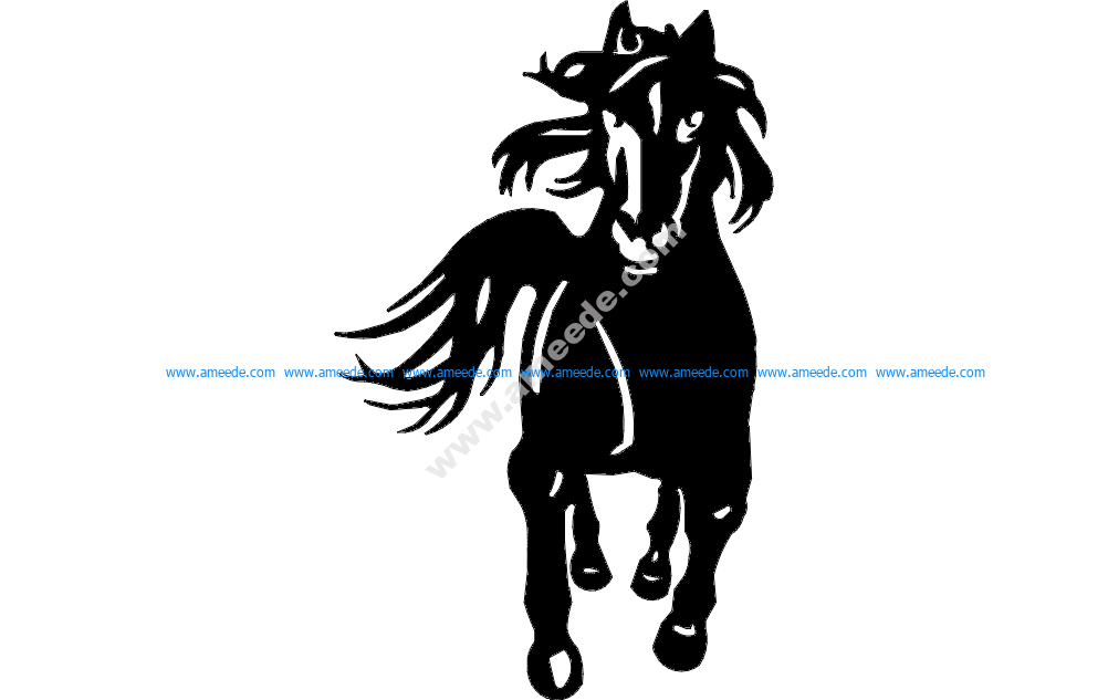 Horse Running 3