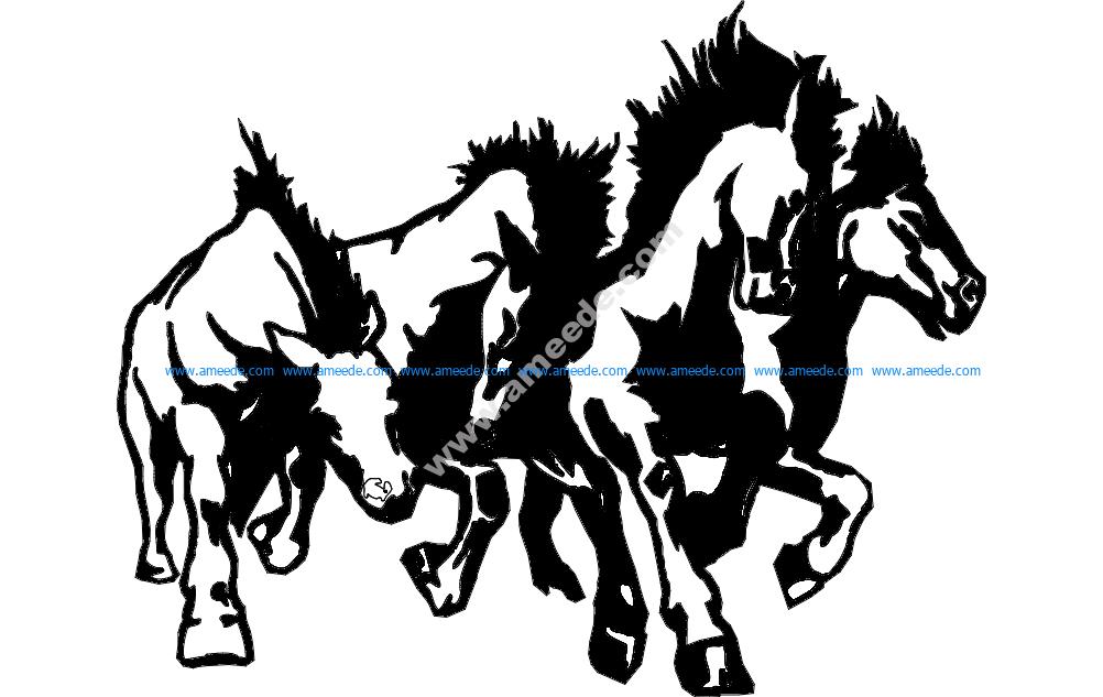 Horse Sampede