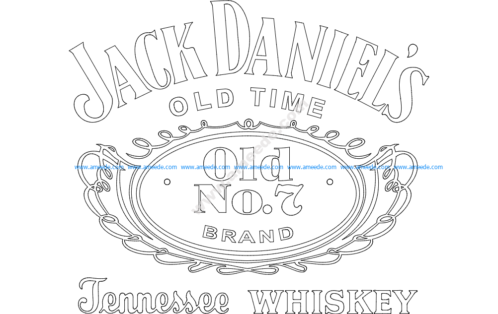 Jack Daniel S Tennessee Whiskey Logo Download Free Vector