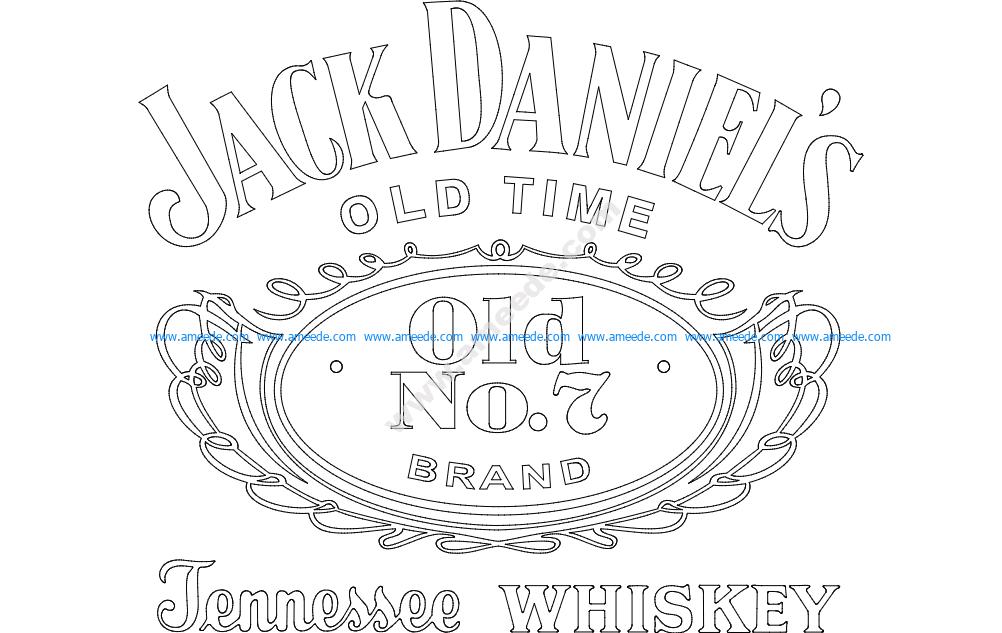 Jack Daniel's Tennessee Whiskey logo